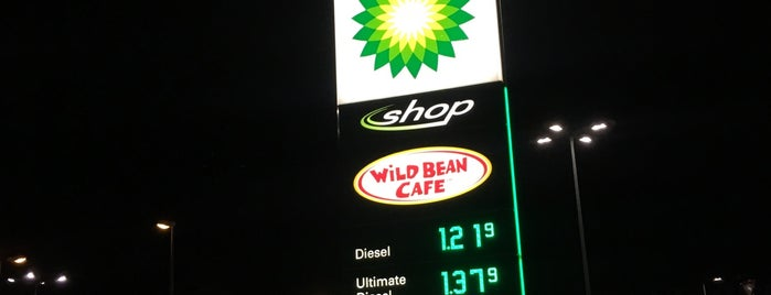BP Tankstelle is one of Tempat yang Disukai Tatyana.