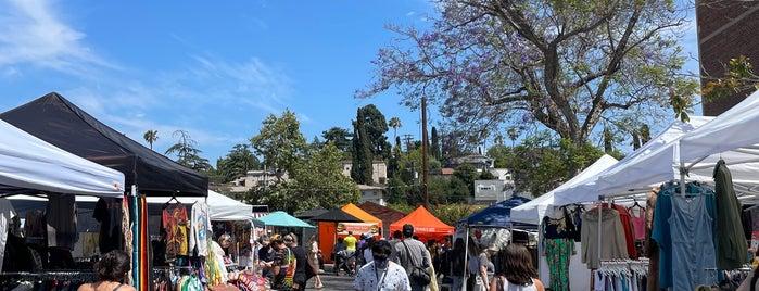 The Los Feliz Flea is one of Shopping in LA.