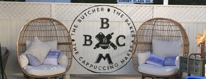 The Butcher, The Baker, The Cappuccino Maker is one of LAX.