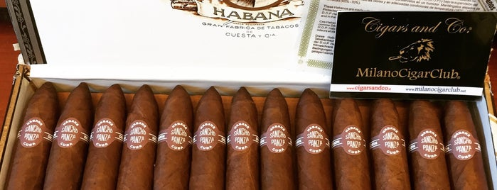 Cigars and Co is one of Fabrizioさんの保存済みスポット.