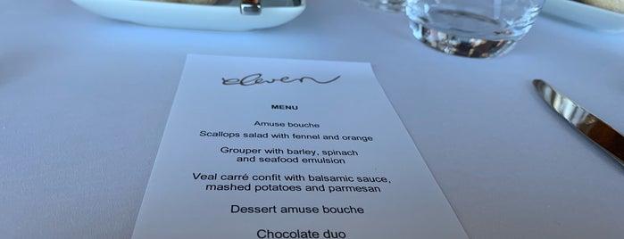 Eleven Restaurant by Joachim Koerper is one of Orte, die Dade gefallen.
