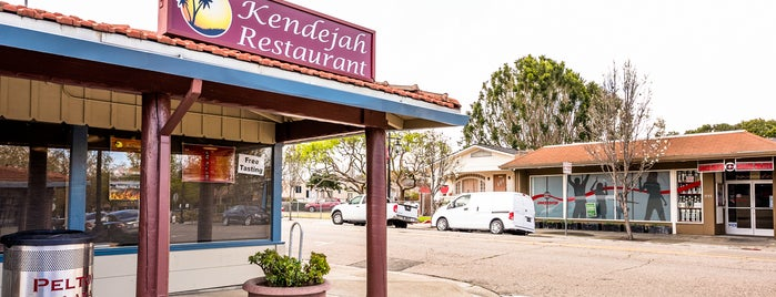 Kendejah Restaurant is one of SF Chronicle.