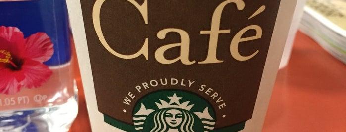 Starbucks is one of Boston Caffeine Adventures.