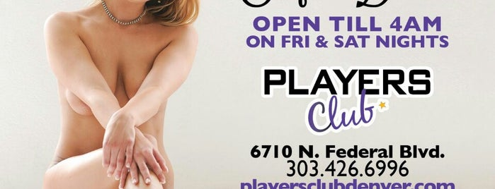 Players Club is one of Strip Clubs.