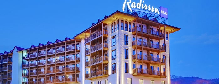 Radisson Blu Resort, Bukovel is one of Orte, die Яна gefallen.