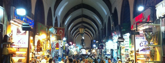 Grand bazar is one of İstanbul.