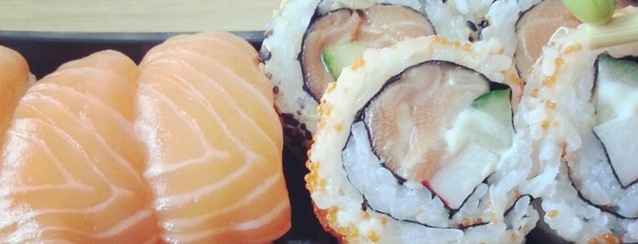 Nudo Sushi Box is one of Orte, die Dylan gefallen.