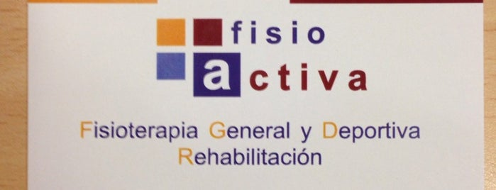 FisioActiva is one of Mundo madrileño.