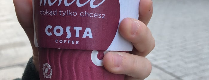 Costa Coffee is one of Krakow.