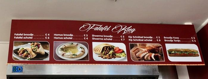 Falafel King is one of Posti che sono piaciuti a Kevin.