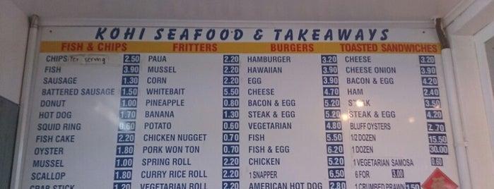 Kohi Fresh Fish & Takeaways is one of สถานที่ที่ Jim ถูกใจ.