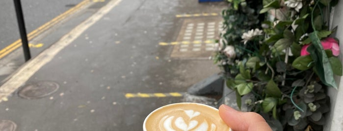 Amoret Speciality Coffee is one of To do london.