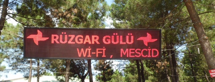 Rüzgar Gülü Kır Bahçesi is one of Tempat yang Disukai Nazmiye.