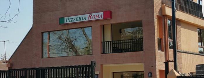 Pizzeria Roma is one of Locais curtidos por Juan.
