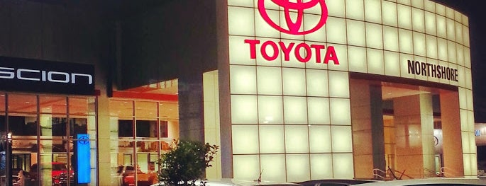 Northshore Toyota is one of Increase your New Orleans City iQ.