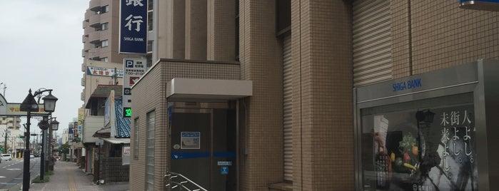 滋賀銀行 守山支店 is one of bank.