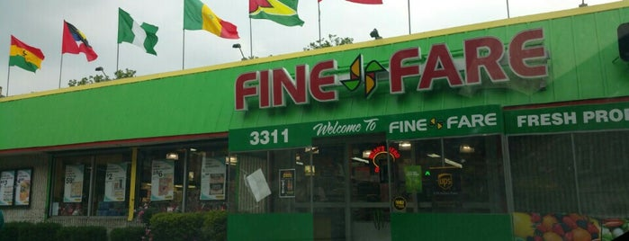 Fine Fare is one of Signage.