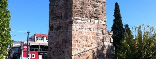 Saat Kulesi is one of Antalya.