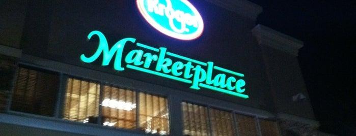Kroger Marketplace is one of Locais salvos de Stacy.