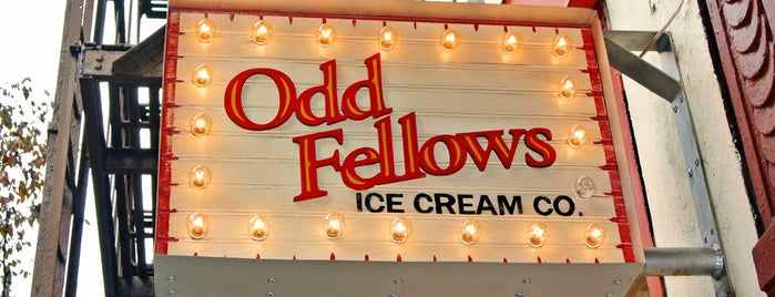 OddFellows Ice Cream - The Sandwich Shop is one of Dessert, Bakeries, & Cafes - to do.
