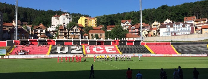 Gradski stadion Užice | FK Sloboda is one of Zlatiborski okrug.