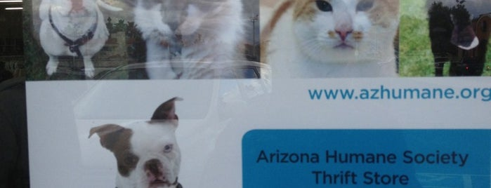 Arizona Humane Society Thrift Store is one of Places to go.