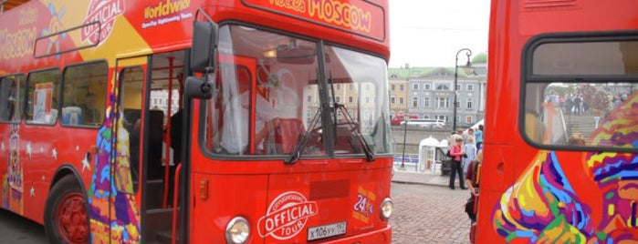 City Sightseeing Moscow is one of Москва.