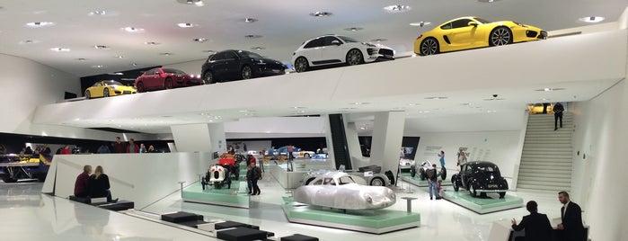 Porsche Museum is one of 4sq365de (1/2).