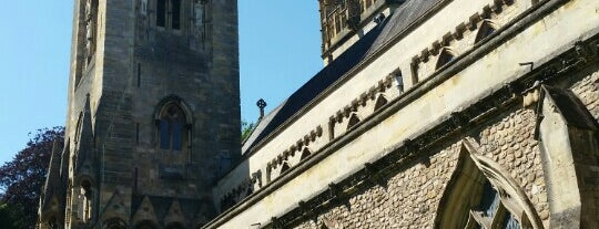 Llandaff Cathedral is one of Local's Guide to Cardiff.