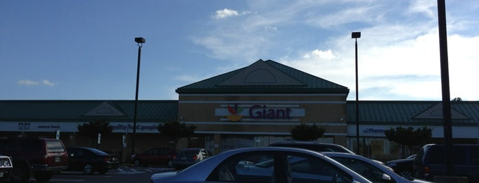 Giant is one of Baltimore to do.