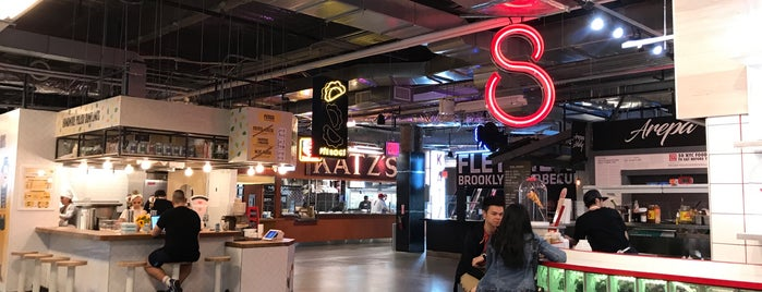 DeKalb Market Hall is one of 40 Top-Rated Food Halls in the U.S..