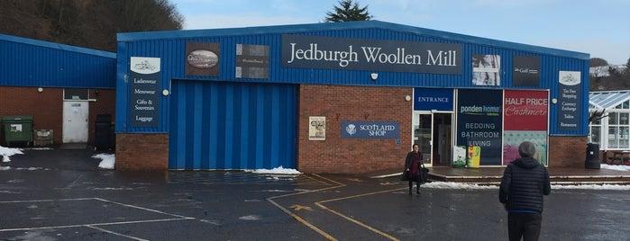 Jedburgh Woollen Mill is one of Lugares favoritos de Carl.