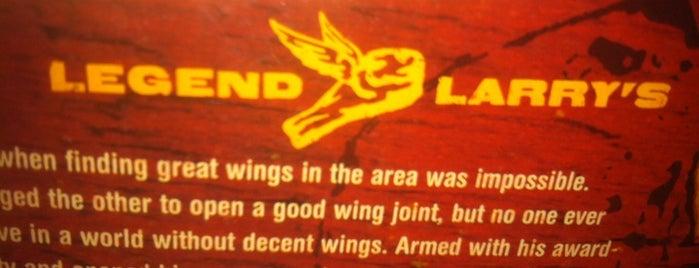 Legend Larry's is one of America's 8 Tastiest Wing Joints.