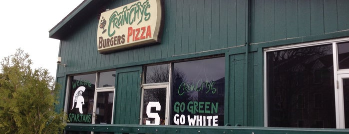 Crunchy's is one of Lansing Area.