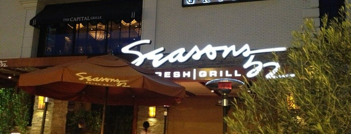 Seasons 52 is one of Eat, drink & be merry.