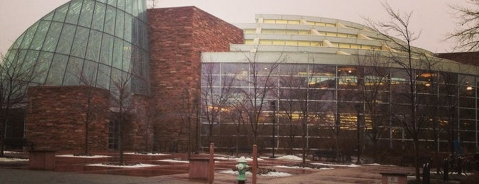 Boulder Public Library is one of Alexさんのお気に入りスポット.