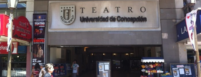 Teatro Universidad de Concepción is one of Luis 님이 좋아한 장소.