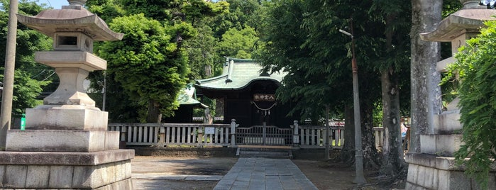 八雲神社 is one of 足利.