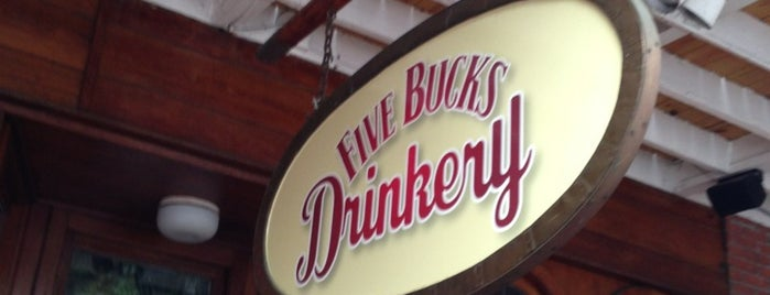 Five Bucks Drinkery is one of yummy eats.