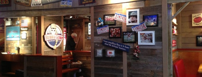 Bubba Gump Shrimp Co. is one of Landry's Concepts.