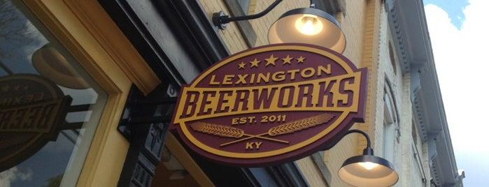 Lexington Beerworks is one of Leach: сохраненные места.
