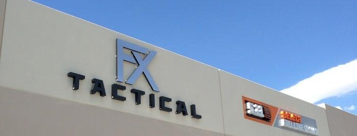 FX Tactical is one of Lugares guardados de Joe.