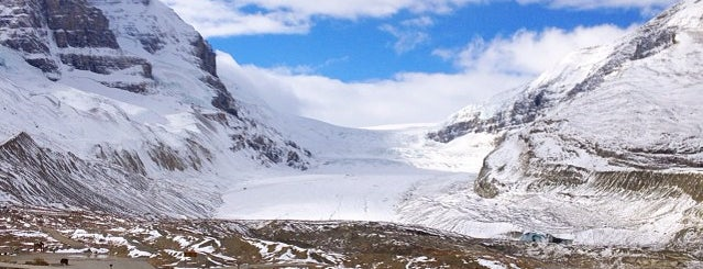 Athabasca Glacier (Trailhead to) is one of Jasper & Banff List.