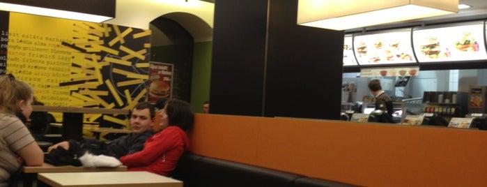 McDonald's is one of Adam'ın Beğendiği Mekanlar.