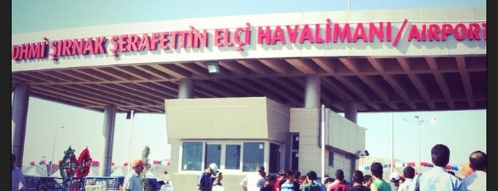 Şırnak Şerafettin Elçi Havalimanı (NKT) is one of HAVALİMANLARI /  AİRPORTS  All The World.
