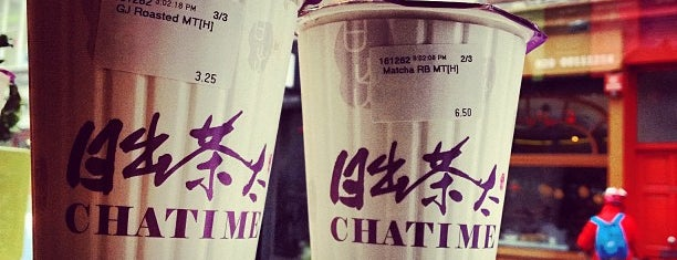 Chatime is one of Drinks.