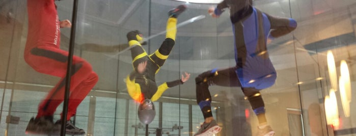 iFly Indoor Skydiving is one of Dallas.