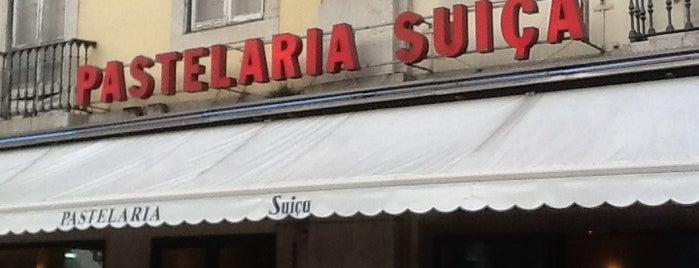 Pastelaria Suíça is one of Portugal.