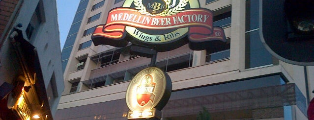 Medellín Beer Factory is one of Tempat yang Disukai Ines.