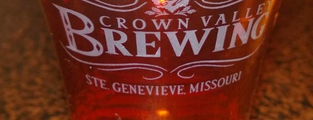 Crown Valley Brewing and Distilling is one of Wineries and Microbreweries around St. Louis.
